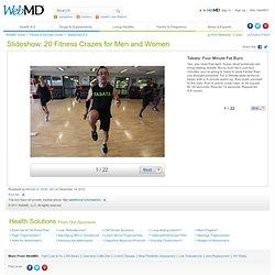 20 Workout & Fitness Crazes Slideshow