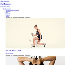 20-Minute Workout: Total-Body Tabata - Furthermore from Equinox