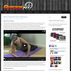 QuickieFit - Quick Fitness Workouts