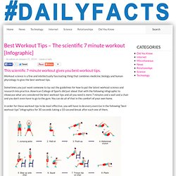 Best Workout Tips - The scientific 7-minute workout tips and tricks