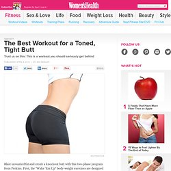 The Best Workout for a Toned, Tight Butt
