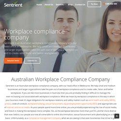Workplace Compliance Company Melbourne Australia – Sentrient