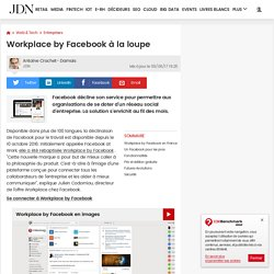 Workplace by Facebook (ex-Facebook at Work) : ce qu'il faut savoir