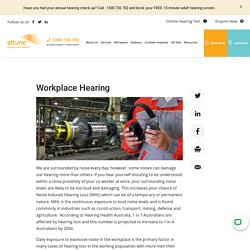 Workplace Hearing