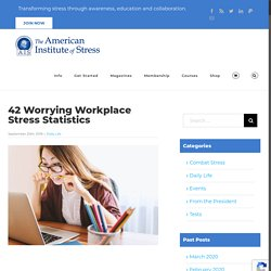 42 Worrying Workplace Stress Statistics - The American Institute of Stress