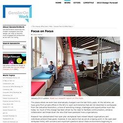 Focus onFocus - WORK - Gensler Blog