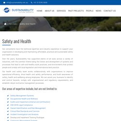 WorkplaceHealth and Safety Consultants Perth