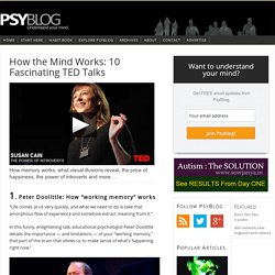 How the Mind Works: 10 Fascinating TED Talks