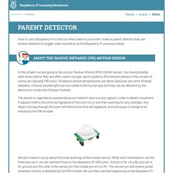Worksheet - Parent Detector