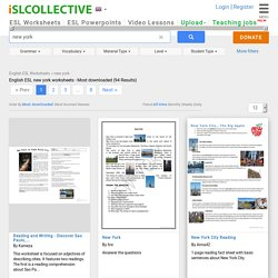English ESL worksheets, activities for distance learning and physical classrooms (x86476)