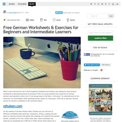 German Worksheets For Beginners - Free Printable PDFs