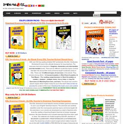 ESL Worksheets , Grammar, Vocabulary, Books Ebooks, E-books