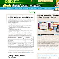 Maths Worksheets and Online Maths Courses.
