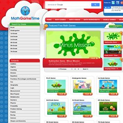 Math Game Time - Free Math Games, Videos & Worksheets for Kids, Parents & Teachers