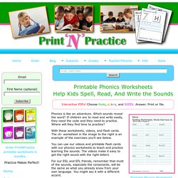 44+ Phonics Worksheets: Practice Phonograms Copywork