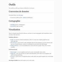 Dataviz - OUTILS