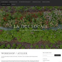 Workshop / atelier – La Tige Locale