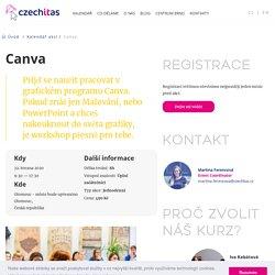 Workshop grafiky v Canva - Czechitas