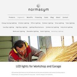 LED Lights For Workshop and Garage