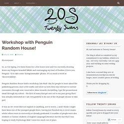 Workshop with Penguin Random House! – Twenty Swans