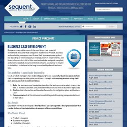 Sequent Learning Networks Provides Business Case Development Services