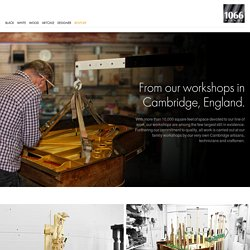 1066 Pianos - Workshops - From our workshops in Cambridge, England.