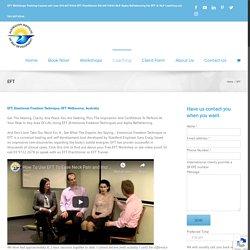 EFT Workshops, Consultations and Training Melbourne