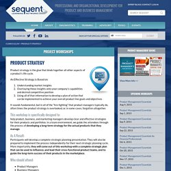Developing Product Strategy At Sequent Learning Networks