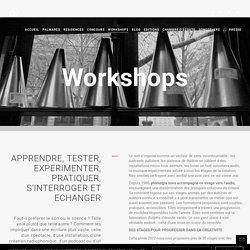 Workshops – Phonurgia Nova