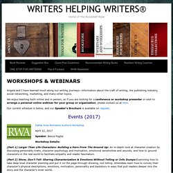 WORKSHOPS & WEBINARS