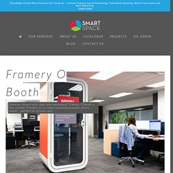 Framery O Booth - Smart Space Workspace Solution Auckland