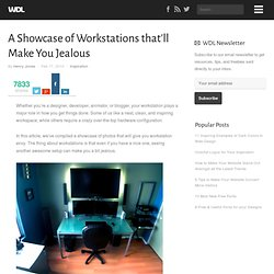 A Showcase of Workstations that'll Make You Jealous | Inspiratio