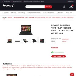 Tecustry - One Stop IT Shop - Desktops, Workstations, Thin Clients, Notebooks, Tablets, Software, Networking, Audio, Video, Peripherals, Servers, Printers, Adapters, Battery, Telephony, Support, Services