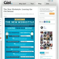 Blog » The New Workstyle: Leaving the Old Behind