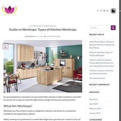 Guide to Worktops: Types of Kitchen Worktops