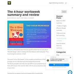 The 4-hour workweek summary and review - Invincible Lion