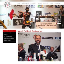 world's best bartenderInternational Bartenders Association