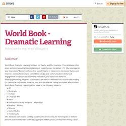 World Book - Dramatic Learning (Carley)