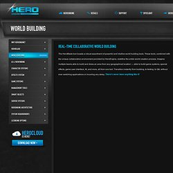 Real-time Collaborative World Building | HeroEngine