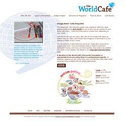 World Café Etiquette Graphics