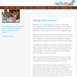 World Cafe Method