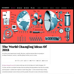 The World Changing Ideas Of 2015