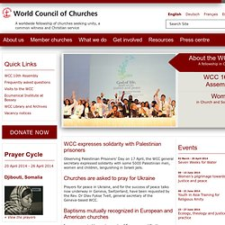 WCC - World Council of Churches