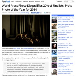 World Press Photo Disqualifies 20% of Finalists, Picks Photo of the Year for 2014
