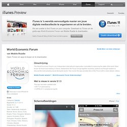 'World Economic Forum Official Fan App'
