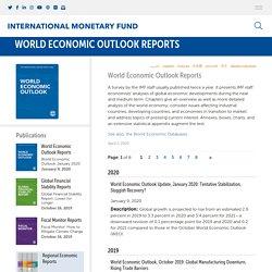 IMF World Economic Outlook Reports List