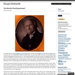 The World's First Eyewitness? « Doug's Darkworld