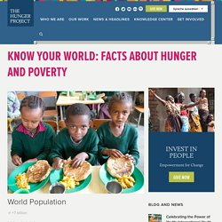 Know Your World: Facts About World Hunger & Poverty
