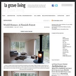World Homes: A Finnish Forest | LA Grove Living