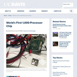 World's First 1,000-Processor Chip